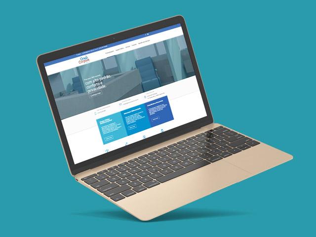 website responsivo oncocorpore